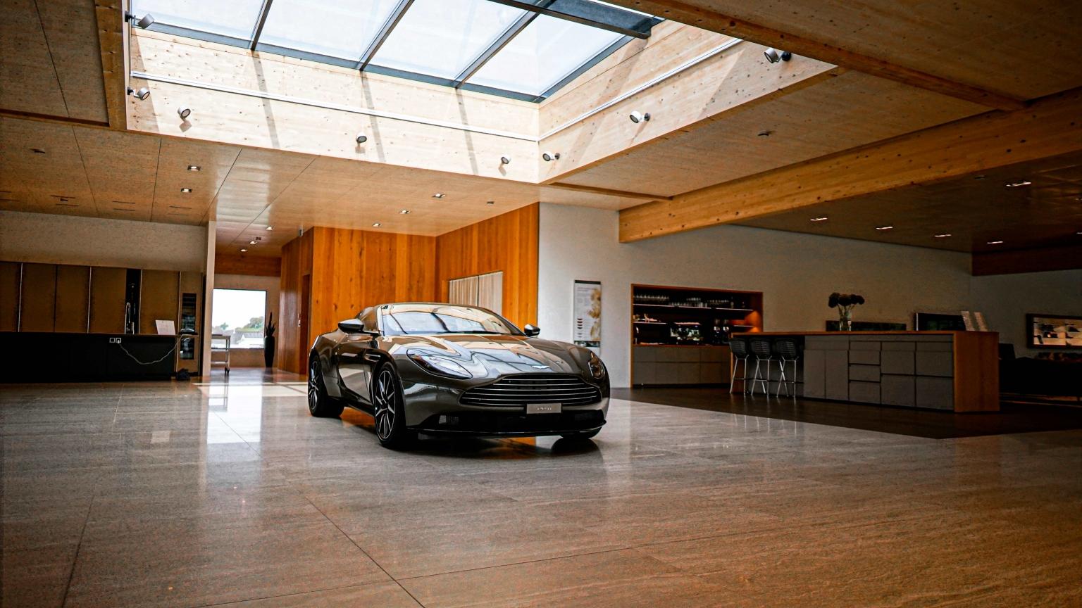 Aston Martin St.Gallen Showroom