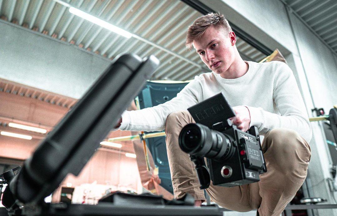 Jan Edelmüller Videoproduktion mit RED Raven Kamera
